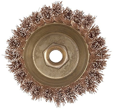 Ampco Non-Sparking, Non-Magnetic & Corrosion Resistant Safety Brush, Cup, Knot Wire