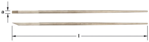 Ampco Non-Sparking, Non-Magnetic & Corrosion Resistant Safety Bar, Crow