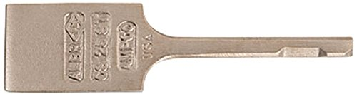 Ampco Non-Sparking, Non-Magnetic & Corrosion Resistant Safety Chisel, Pneumatic Scaling, square shank