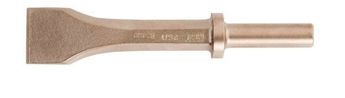 Ampco Non-Sparking, Non-Magnetic & Corrosion Resistant Safety Chisel, Pneumatic, w/ Retaining Collar
