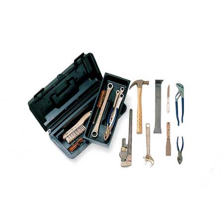 Ampco Non-Sparking, Non-Magnetic & Corrosion Resistant Safety  16 Piece Tool Kit