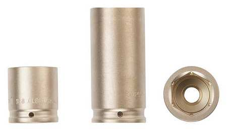 "Ampco  Non-Sparking, Non-Magnetic, Corrosion Resistant Standard Impact Sockets, 6-Point, 3/4"" Drive, Metric"