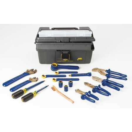 Ampco DELUXE INSULATED TOOL KIT, 17 PC, VARIETY