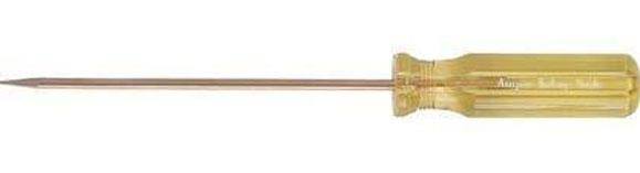 "Ampco Safety Tools A-1 Awl, Non-Sparking, Non-Magnetic, Corrosion Resistant, 3/16"" Tip, 7-1/4"" OAL"