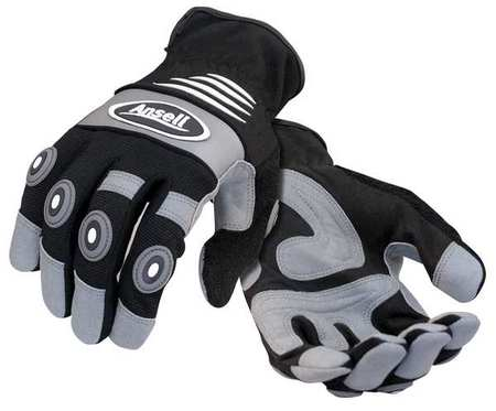 Ansell ANTI-VIBRATION GLOVES, BLACK