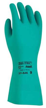 Ansell CHEMICAL RESISTANT GLOVES, GREEN