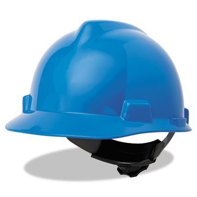 MSA V-Gard 4 Point Ratchet Suspension Hard Hat Fas-Trac Suspension