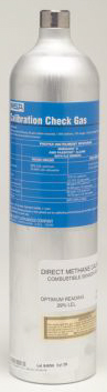 MSA Calibration Gas - Chlorine - 2 ppm, 58 L, 500 psi