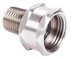 MSA Stainless Steel Female Adapter (For Quick-Disconnects And Adapters)