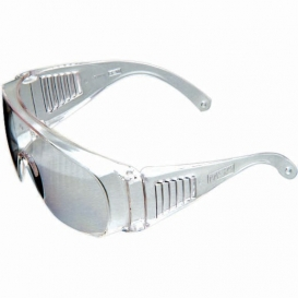 MSA Plant Visitor Safety Glasses - Clear Frame - Clear Anti-Fog Lens