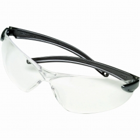 MSA Vista Safety Glasses - Gray Frame - Clear Lens