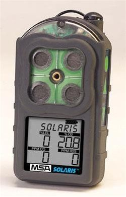MSA Solaris Multigas Detector Ch4, Co, No2, O2