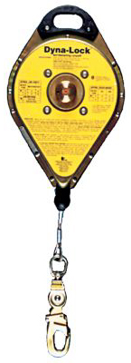 MSA Dyna-Lock Self-Retracting Lanyard - 900 lb Wt Capacity , 20 ft Long