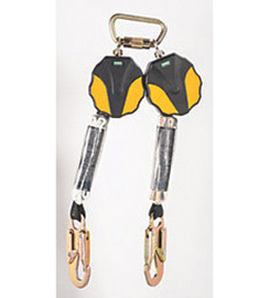 MSA 6' Workman Twin-Leg Mini Personal Fall Limiter With 36C Snaphook