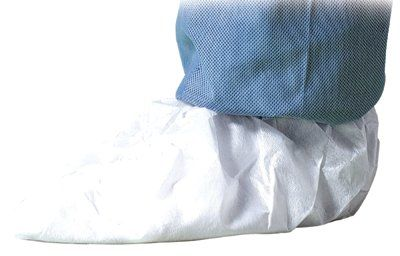 Dupont Polyethylene Laminate Shoe Cover