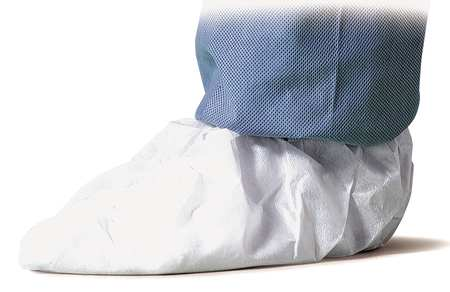 Dupont Shoe Covers, Slip Resistant Waterproof, Size: XL