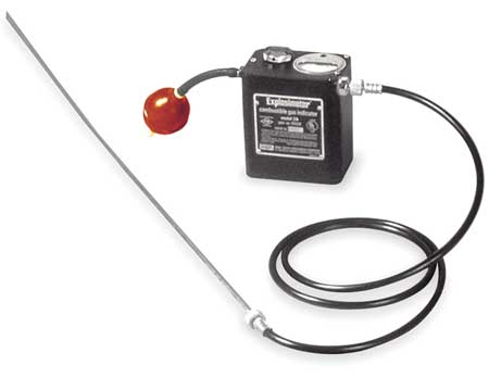 """MSA Synthetic Rubber Sampling Line Assembly, 8.74"""" Height x 7.09"""" Length x 1.65"""" Width"""