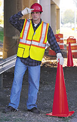 OCCULUX Economy Two-Tone Safety Vests