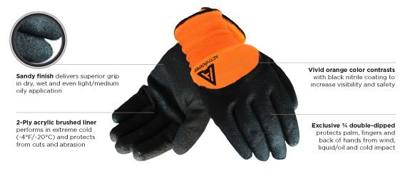 Ansell GENERAL PURPOSE COLD WEATHER GLOVE (97-011)