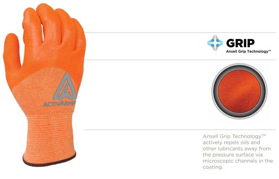Ansell OIL FIELD SERVICES Glove