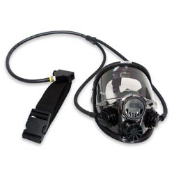 North 7600 Series Full Facepiece Continuous Flow Airline Respirator Assembly