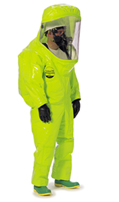 Dupont Fully encapsulated Level A suit, extra wide TK554T