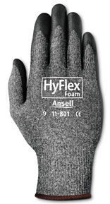 Ansell HyFlex® Foam 11-801 with Patented Knitting Technology