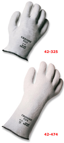 Ansell Crusader Flex Nitrile-Coated Hot Mill Glove