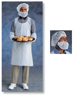 Ansell Disposable Polyethylene Aprons & Sleeves