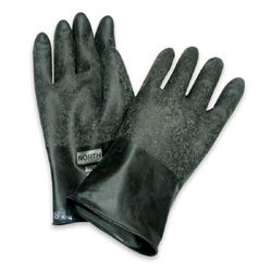 North Butyl Gloves, Rough Hand