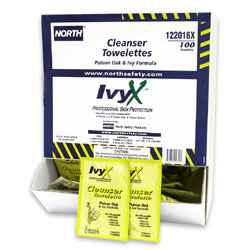 North IvyX™ Cleanser Towelettes