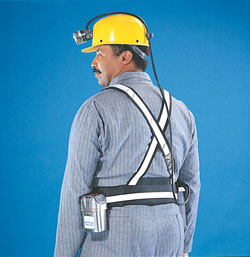 MSA Miner's Support System and Multipurpose Pouch