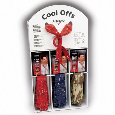 Allegro Cooling Products: Cool Off Display
