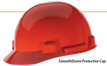 MSA SmoothDome Cap Assemblies 6-Point Fas-Trac (Standard Size)