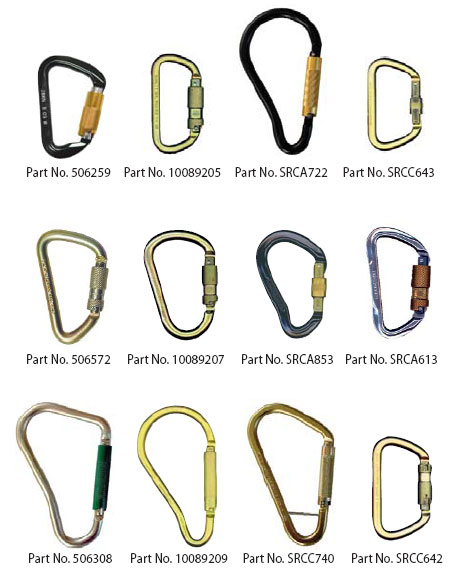 Carabiners Amp Hooks Fall Protection Safetysaves Com Llc