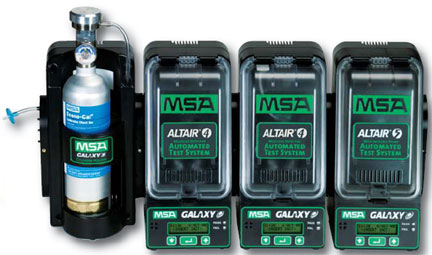 MSA Galaxy®Automated ALTAIR 4 Test System