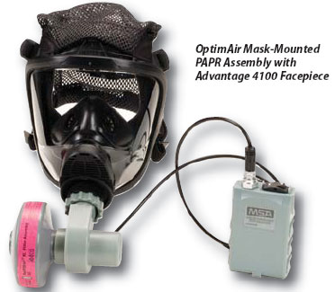 MSA Powered Air-Purifying Respirators (PAPRs)