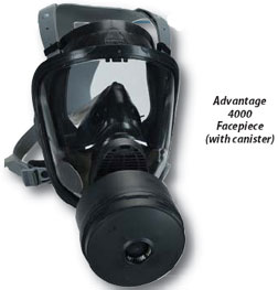 MSA Chin-Type Gas Masks