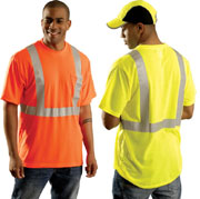 OccuLux ANSI Compliant Ultra Cool Wicking T-Shirt - Class 2