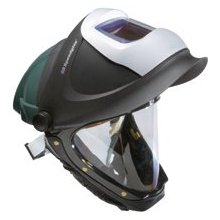 3M Hardhat with Welding Shield and Wide-view Faceshield