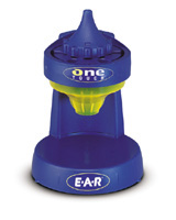 """E-A-R® One Touch™ Base and """"No Waste Funnel"""""""