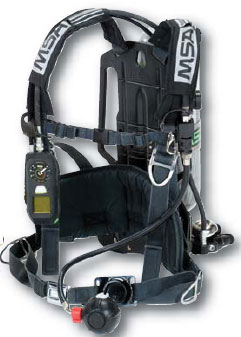 MSA FireHawk M7 Carrier and Harness Assembly