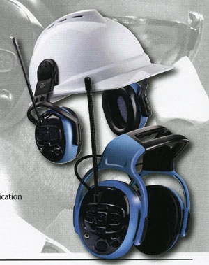 MSA Left/Right Electronic Hearing Protection- Dual Pro