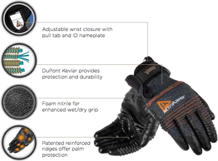 Ansell ActivArmr Multipurpose Medium Duty Glove