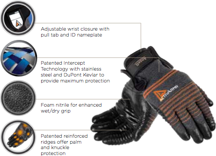 Ansell ActivArmr Multipurpose Heavy Duty Glove