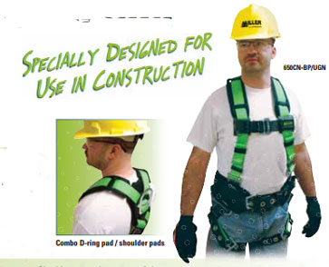 Miller Contractor Non-Stretch Harnesses