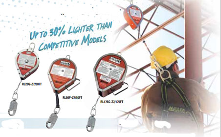 Miller MightyLite Self-Retracting Lifelines