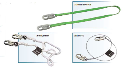 Miller HP & Miller Positioning and Restraint Lanyards