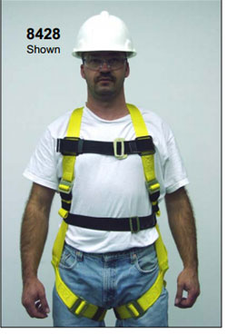 Miller 8428 Series  Non-Stretch Harnesses