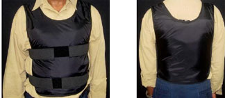 See-Bak protective body shields